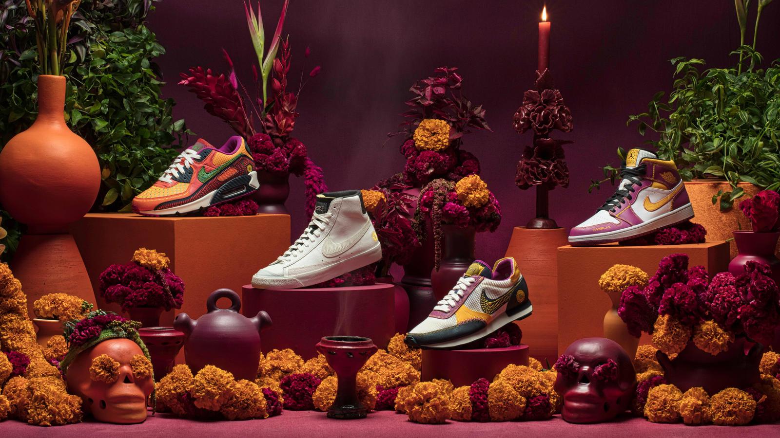 Colección Nike Día de Muertos, ¡Tomen todo mi dinero!