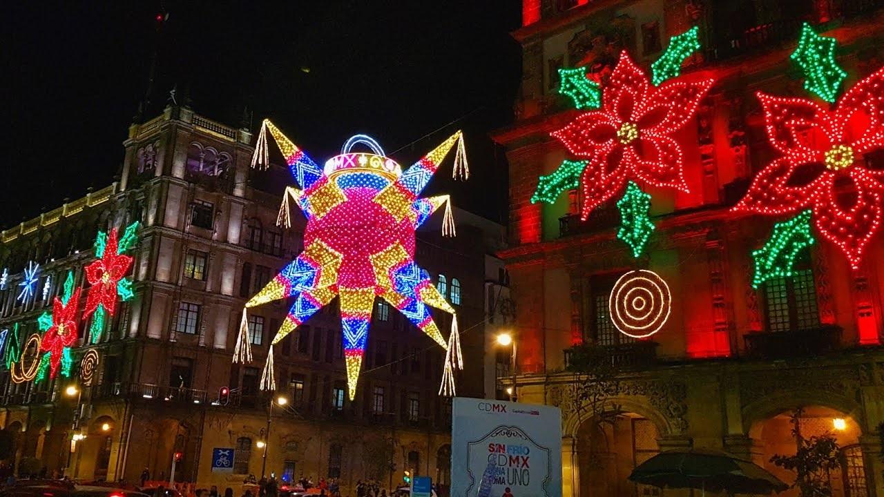 El inicio de la temporada navideña y la Navidad en México