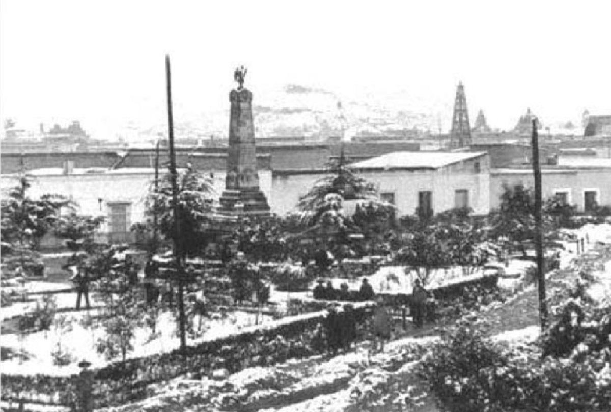 Hace 54 años Toluca se pintó de blanco bajo una capa de nieve || FOTOS