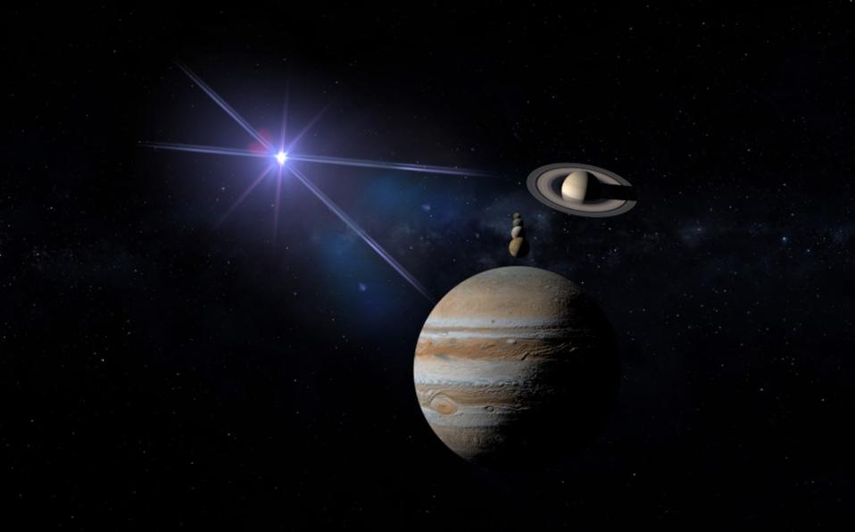Conjunción triple de Mercurio, Júpiter y Saturno - Así la puedes ver