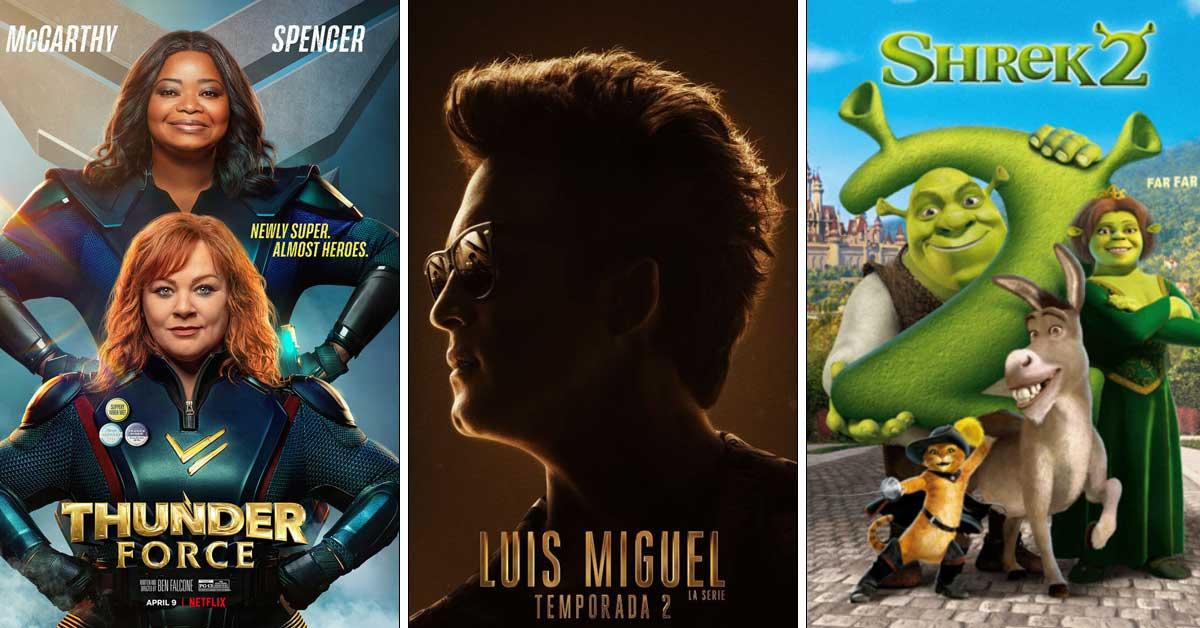 Netflix: Estrenos para abril 2021