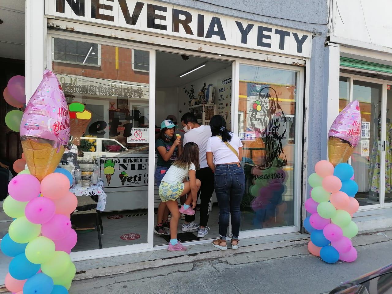 Heladería Yeti de Toluca cumple 58 años de tradición