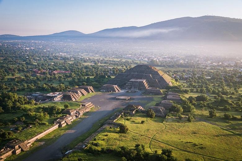 Teotihuacán se convirtió en destino turístico seguro