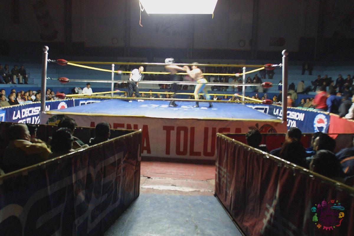 La Arena Toluca, un lugar de entrañables momentos luchisticose
