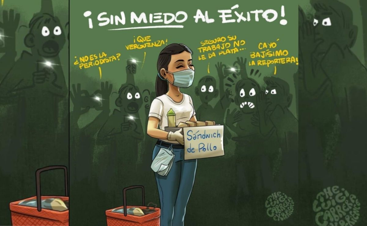 Se trata de la joven periodista, Karla Villarroel, quien es originaria de Bolivia y se hizo viral a partir de una publicación en Instagram.