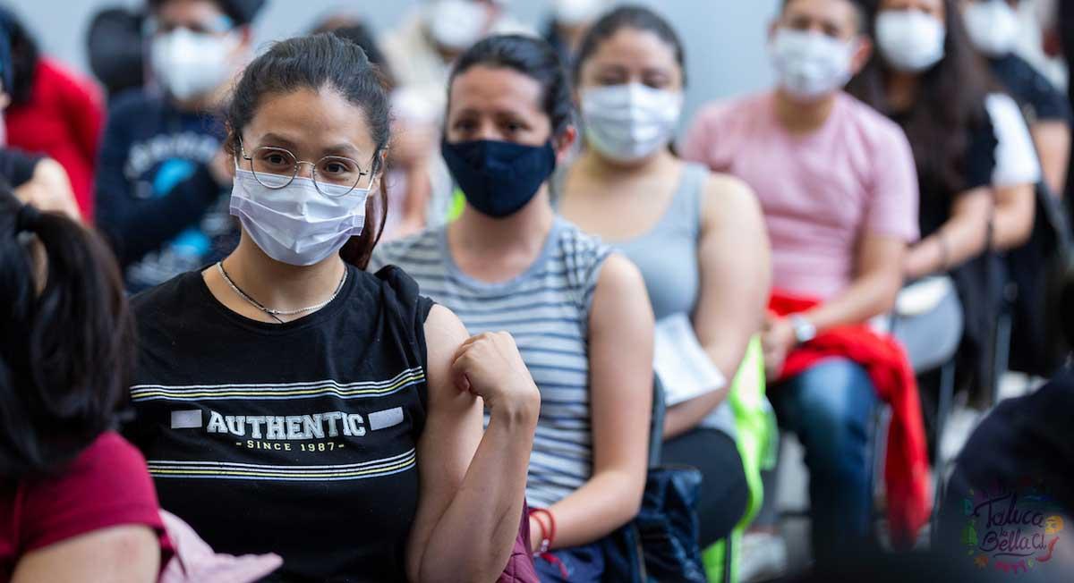 Metepec anuncia fecha de vacunación segunda dosis covid 18 a 29 años