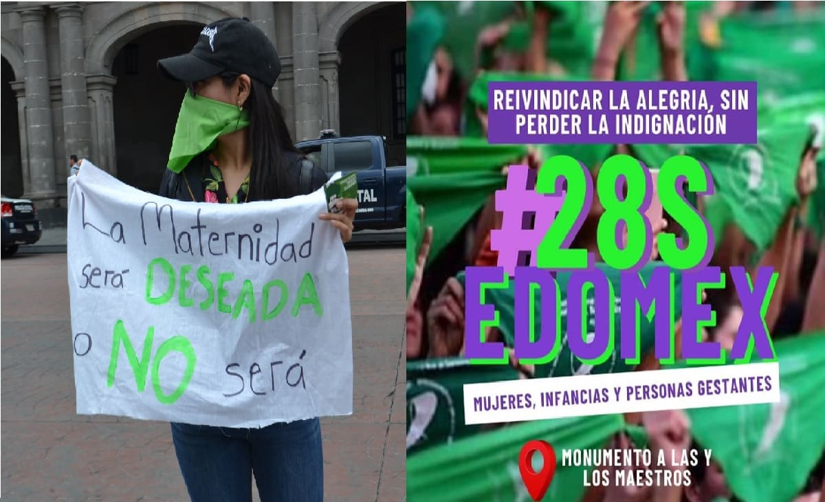 Mañana marcharán las mujeres de Toluca a favor del aborto