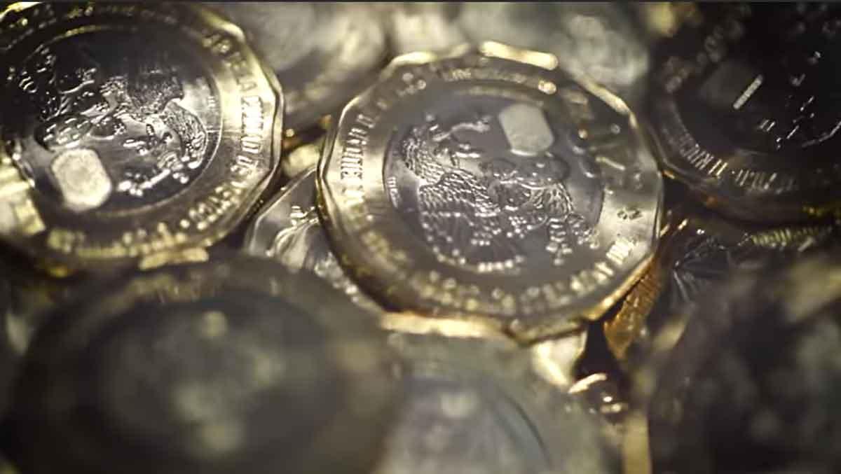 Nuevas monedas conmemorativas de la Independencia y México Tenochtitlan