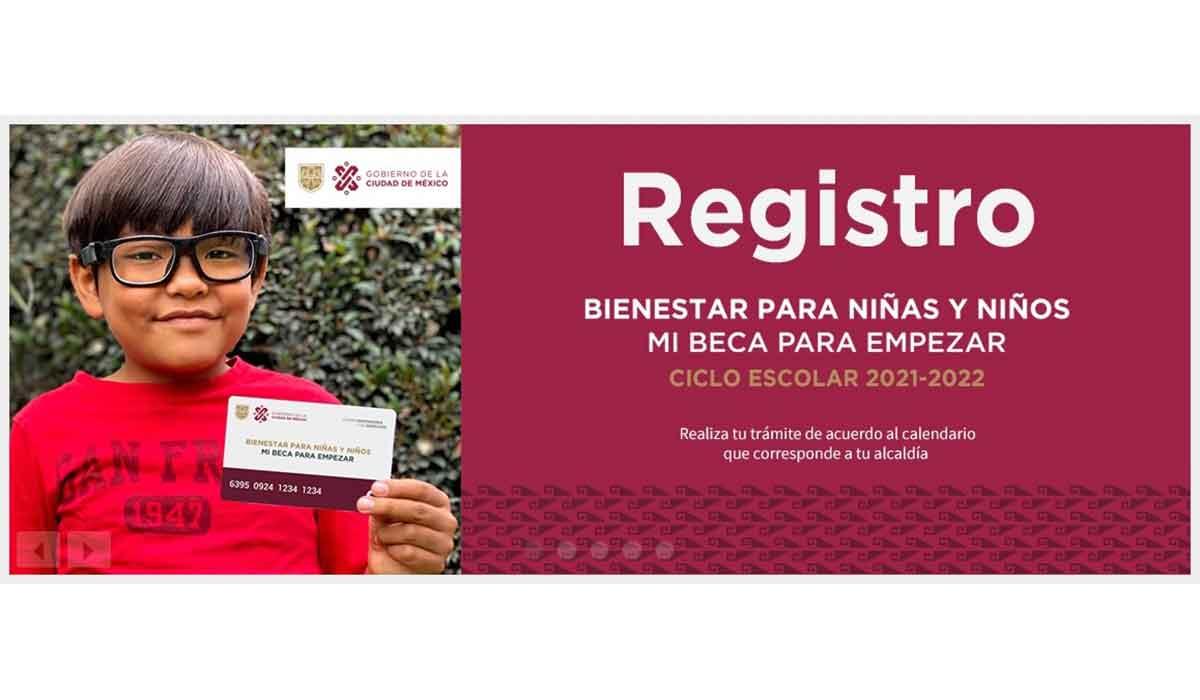 Programa Bienestar para niñas y niños 2021 - Cómo llenar el formulario de registro
