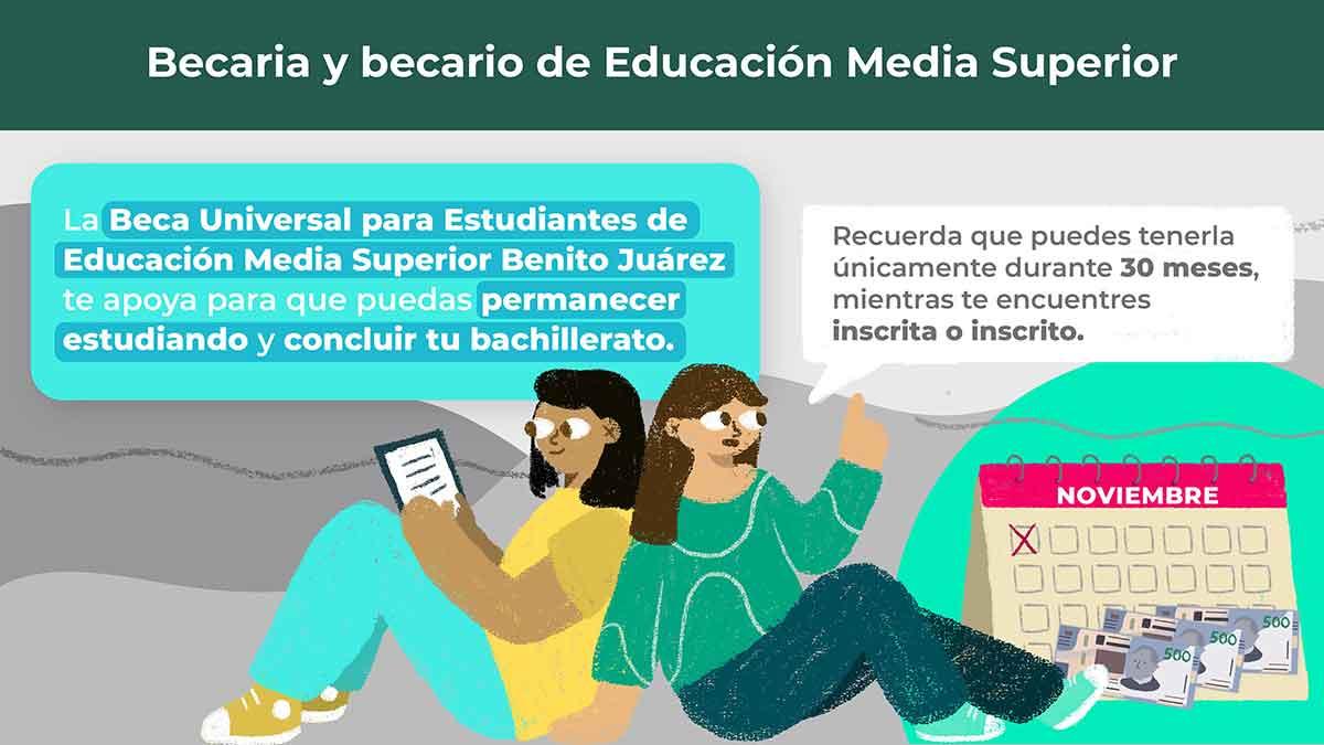 Adelanto de pagos para las Becas Benito Juárez 2021