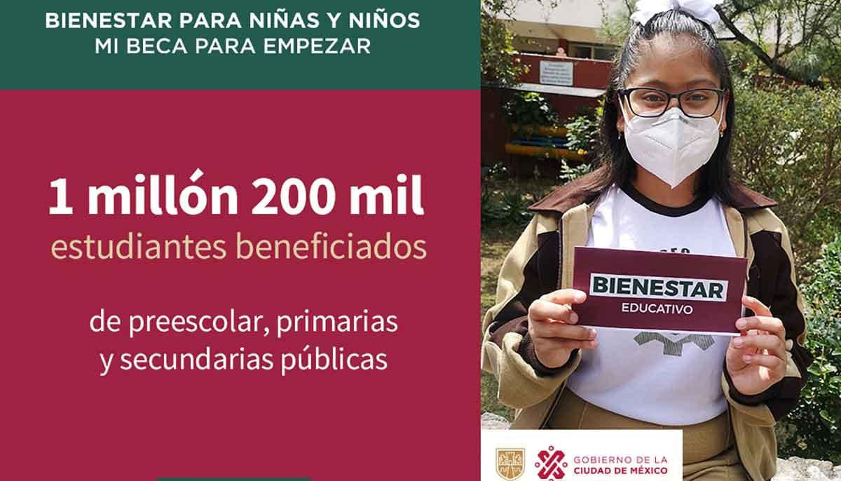 Te informamos sobre cómo y dónde es el registro para el apoyo Mi Beca para Empezar que da el gobierno de la CDMX a alumnos de educación básica.
