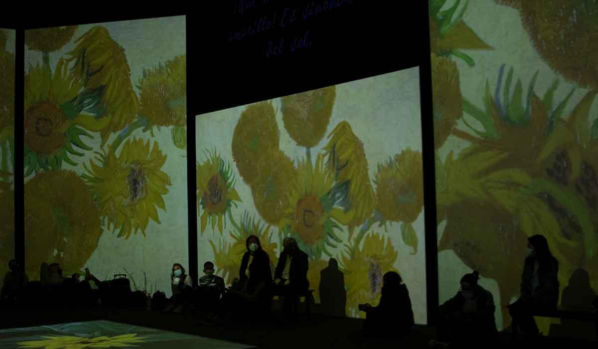 Experiencia Van Gogh Alive llega al nuevo parque de Tolucae